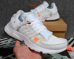 NIKE Off Newest Presto 2.0 Preto Branco Atacado de alta Qualidade Exclusivo Paixão Paz juventude Running Shoes frete grátis em Promoção