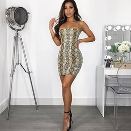 $enCountryForm.capitalKeyWord Australia - New Brand Female Sexy Party Dresses 2019 Summer Printed Leopard Miniskirt Sexy Slim Short Backless Dresses Fashion Club Dresses