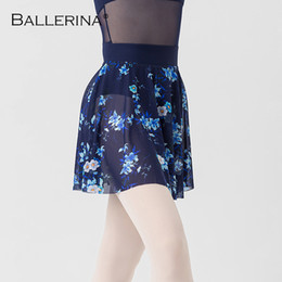 sexy ballet dancing NZ - ballet dress dance leotard women skirt dancewear Digital printing tutu ballet adulto Sexy Practice skirt Ballerina 8154