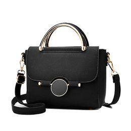 Small Handbags Sale Australia - Hot Sale Mini Ladies Messenger Bag Leather Flap Shoulder Bags For Women Crossbody Bag Tote Sweet Candy Color Small Handbags
