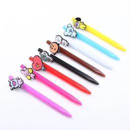 $enCountryForm.capitalKeyWord Australia - 1pc Kawaii Cartoon Plastic Ballpoint Pens Cute Lovely Ball Pen School Supplies Korean Stationery