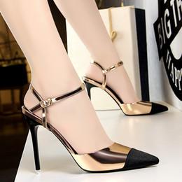$enCountryForm.capitalKeyWord Australia - Hot Sale- women escarpins sexy hauts talons dress shoes women slingback sandalia feminina shoes woman high heels zapatos de mujer tacones