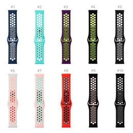 Wholesale Sport Watch Band Straps For Fitbit Versa Samsung Gear S3 Silicone Breathable Replacement Quick Easy Fit Strap Bands mm