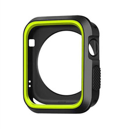 Cover For Smart Watch Australia - Sports Silicone Cases for apple watch 40mm 44mm 38mm 42mm Smart Watch Protector for iWatch Series 4 3 2 Cover Case Shock-resistant Soft