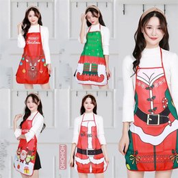 $enCountryForm.capitalKeyWord Australia - Sexy Christmas Pinafores decorate Clothes Accessories Prop Aprons Originality Santa Claus Snowman Cute Save-All with different style 8sl J1
