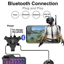 Discount mobile controller - UBG Mobile Gamepad Controller Gaming Keyboard Mouse Converter For Android IOS Phone to PC Bluetooth Adapter Plug and Pla