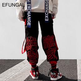 Track Joggers NZ - EFUNGAL Letter Embroidery Harem Joggers Men Casual Track Pants 2018 Fashion Male Sweatpants Skateboard Harajuku Streetwear FD62