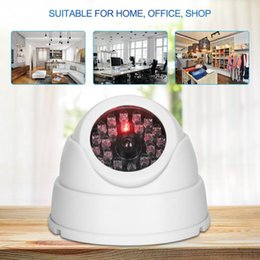 Discount dome surveillance cameras wireless - Mr-18b Wireless Indoor Outdoor Dome Simulated Surveillance Camera with 30pcs Dummy IR LEDs