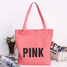 $enCountryForm.capitalKeyWord NZ - Cheap Fashion Women Casual Letter Print Large Capacity Canvas Shoulder Bag Tote Bags Made of canvas durable Zipper 2 8cm Rectangle