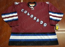 58f086bd5 Cheap custom Colorado Avalanche Vintage Koho Jersey Third Maroon NEW  Stitched Retro Hockey Jersey Customize any name number XS-5XL