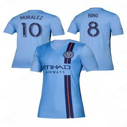 b838a79d4 nycfc 2019 New York City soccer jersey home 19 20 MLS LAMPARD 8 PIRLO 21  MCNAMARA MORALEZ DAVID VILLA 7 football shirts top quality