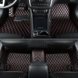 Golf Cars Vw Australia - For car floor mats for VW Golf 2008-2019 Weather Non-slip Carpets floor mat Non toxic and inodorous