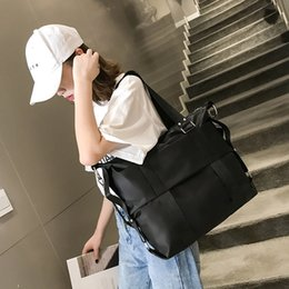 $enCountryForm.capitalKeyWord Australia - Tote Bags for Women Waterproof Nylon Large Capacity Bag for Travel Fashionable Simple Single Shoulder Bag Messenger Bags Men Sac