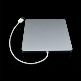 Imac Macbook Australia - Super Slim External USB 2.0 Superdrive Case Enclosure for Macbook Pro Air iMAC Slot in 9.5mm 12.7mm SATA Optical Drive Optibay