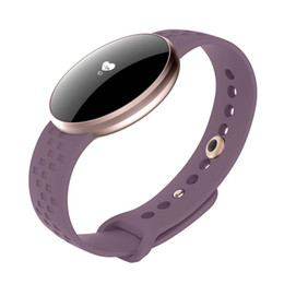 Wholesale 3 Colors Women Fashion Smart Watch for IOS Android with Fitness Sleep Monitoring Waterproof Remote Camera GPS Auto Wake Screen