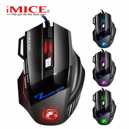 Scroll Lights Australia - USB wired mouse 7 buttons with scroll wheel LED flashing light for PC notebook gaming mouse High-end players and game pros.