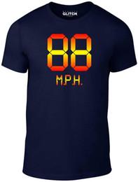 Ingrosso Mens 88 mph solo in caso T-Shirt - Divertente Ritorno al Futuro DMC DeLorean Retro