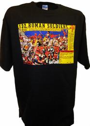 $enCountryForm.capitalKeyWord UK - 132 Roman Toy Soldiers Playset Comic Ad Marx Airfix Tim Mee Armymen 1 72 War Tee summer Hot Sale Men T-Shirt Top New Tee Print