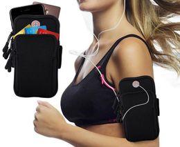 $enCountryForm.capitalKeyWord Australia - Sport Armband Running Jogging Gym 4-6 inch Smartphones Running Arm Band Pouch Holder Bag Case For samsung galaxy s9 plus iphone x xiaomi