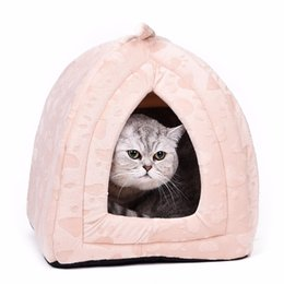 $enCountryForm.capitalKeyWord UK - Warm Cotton Cave Lovely Soft Suitable Pet Dog Cushion Cat Bed House High Quality Products Q190523