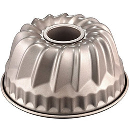 $enCountryForm.capitalKeyWord Australia - cake tool 7 Inch Bundt Pan For Instant Pot Kugelhopf Mold Flute Baking Flan Pan Nonstick Quart Cake Moulds metal