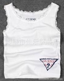 Venta al por mayor de 3-10 AÑOS Niñas bebés Nuevos chalecos de algodón prendas de vestir de verano Ropa de marca
