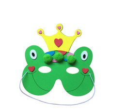 $enCountryForm.capitalKeyWord Australia - Child masquerade mask latex train face Halloween cartoon party decor festive dance ball new year gift