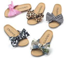 Low Wedge Heel Grey Shoes Australia - Flat Slippers Low Sandals Female Modis Wedge Heel Leather Summer Ladies Sliders Babouche Flavors Shoes Slides Lady Fabric PU