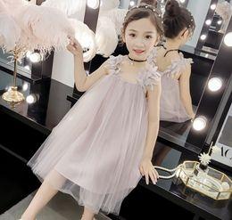 $enCountryForm.capitalKeyWord Australia - Wholesale Baby Girls Dress 2019 Summer New Leaves Tutu Party Princess Dresses For Kids Children Clothes 3-12Y E9031