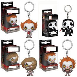 $enCountryForm.capitalKeyWord Australia - FUNKO POP Stan Lee Nathan LEVI Captain Marvel Night King Ghost IT Pennywise Pocket Keychain Action Figure Toys for Children L