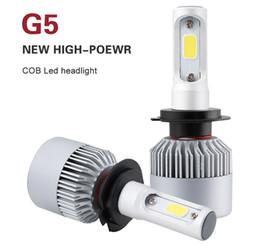 car styling kits 2019 - Car LED Headlight 80W 16000LM H1 H4 H7 H11 LED Headlamp Kit Hi Lo Beam Bulb Kit 6000k 12V Automoiles Headlamp Car-Stylin