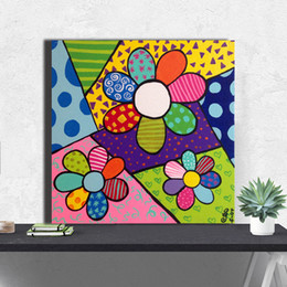 $enCountryForm.capitalKeyWord Australia - Flower Power IV Posters By Romero Canvas Poster And Print Anime Canvas Oil Painting Decorative Picture For kid Bedroom Home Decor