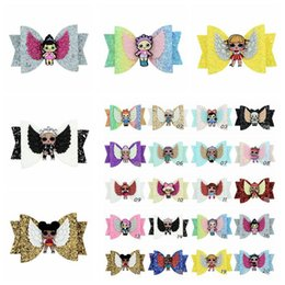 Baby Sequin Hair Clips Wholesale Australia - 20 Colors Surprise Girls Glitter Sequins Bowknot Hairpin Baby Shiny Hair Clips Kids Hair Bow Kids Barrettes Hair Accessories CCA11549 100pcs