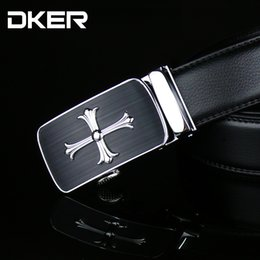 belts Australia - Carved automatic buckle belt new fashion men's leather leather belt A-625