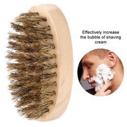 Hair typing online shopping - Beard Bro Shaping Beard Brush Sexy Man Gentleman Beard Trim Template Grooming Shaving Comb Styling Tool Wild Boar Bristles