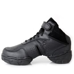 $enCountryForm.capitalKeyWord Canada - Kids' sneakers childrens' brand lace-up genuine leather Modern  Jazz dance shoes soft bottom sports shoes in autumn and winter