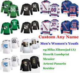 ingrosso star fox-S XL All Star Game New York Rangers Hockey maglie Adam Fox Jersey Ryan Lindgren Brendan Smith Womens Mens cucita Marc Staal personalizzate