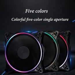$enCountryForm.capitalKeyWord NZ - New arrivals RGB CPU Air Cooler Remote Control 11 blades Computer Cooling Fan PC Proof Radiator Remote control RGB LED fan
