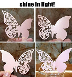 $enCountryForm.capitalKeyWord Australia - Butterfly Wedding Party Table Number Name Paper Place Cards Wine Glass Cup Decoration Wall Decals Sticker For Wedding Party Favor