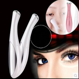 Eye Massager Pen Australia - Beauty Mini Eye Massage Device Pen Type Electric Eye Massager Facials Vibration Thin Face Magic Stick Anti Bag Pouch & Wrinkle