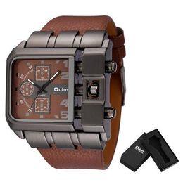 $enCountryForm.capitalKeyWord Australia - fashion Brand Original Unique Design Square Men Wristwatch Wide Big Dial Casual Leather Strap Quartz Watch Male Sport Watches