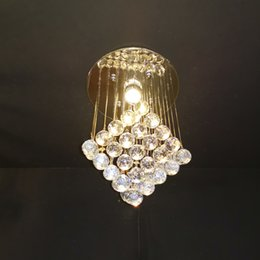 lights design cristal 2019 - modern design crystal ceiling chandelier LED lighting AC110V 220V luxury cristal bedroom lamp hallway lights discount li