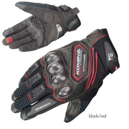 $enCountryForm.capitalKeyWord Australia - Komine Carbon Leather Racing Glove Motorcycle Gloves Ride Bike Driving Bicycle Cycling Motorbike Sports Moto Racing Gloves MX190817