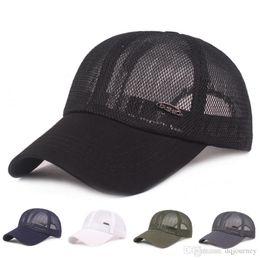 $enCountryForm.capitalKeyWord Australia - Unisex Sun Cap Summer Mesh Baseball Hat Breathable Lightweight Mesh Hats Adjustable Cap Cooling Sports Caps for Hiking Fishing Hunting
