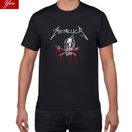 $enCountryForm.capitalKeyWord UK - 2019 new Metallica T Shirt men Rock Band 100% cotton high quality tshirt men Summer cool tee shirt homme Rock Pop tshirt
