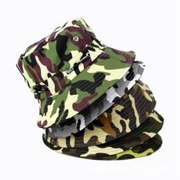 -Fashion Camping Hiking Hunting Fishing Outdoor Cotton Camouflage Fishing  Bucket Hat Cap Hip Hop Men Women 7a492c60d3b1