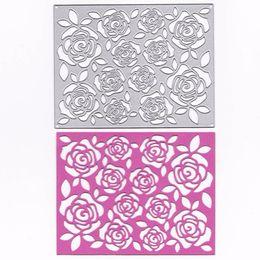 Card die punCh online shopping - Metal Scrapbook Album Cutting Dies Flower Basic Frame Scrapbooking DIY Papercraft Card Punch Stencil Art Cutter Die Cut