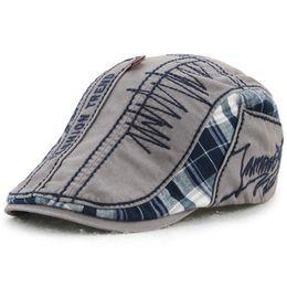 Cotton Flat Cap Ivy Gatsby Newsboy Hat Unisex Duckbill Golf Cabbie Driving  Hunting Men Women Adjustable Snap Vintage Beret Fashion 12491 c8fbe4263b90