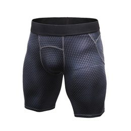 men s compression shorts NZ - Summer Autumn Men Outdoor Sports Running Quick Drying Shorts GYM Out Compression Tight Breathable S-2XL Anti-sweat Shorts