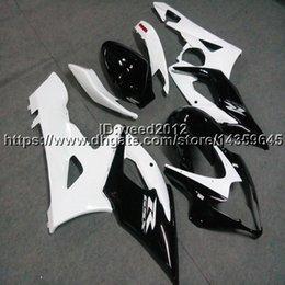 Gsx K5 Australia - Botls+Custom Injection mold white black GSX-R1000 05-06 motorcycle cowl for Suzuki K5 GSXR1000 2005 2006 ABS Fairings